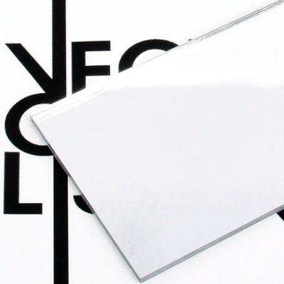 Superficie - plexiglass specchio argento per il taglio laser