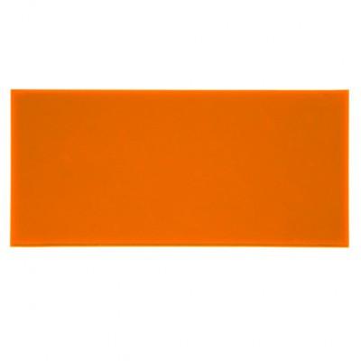 Campione - plexiglass arancione fluo per il taglio laser